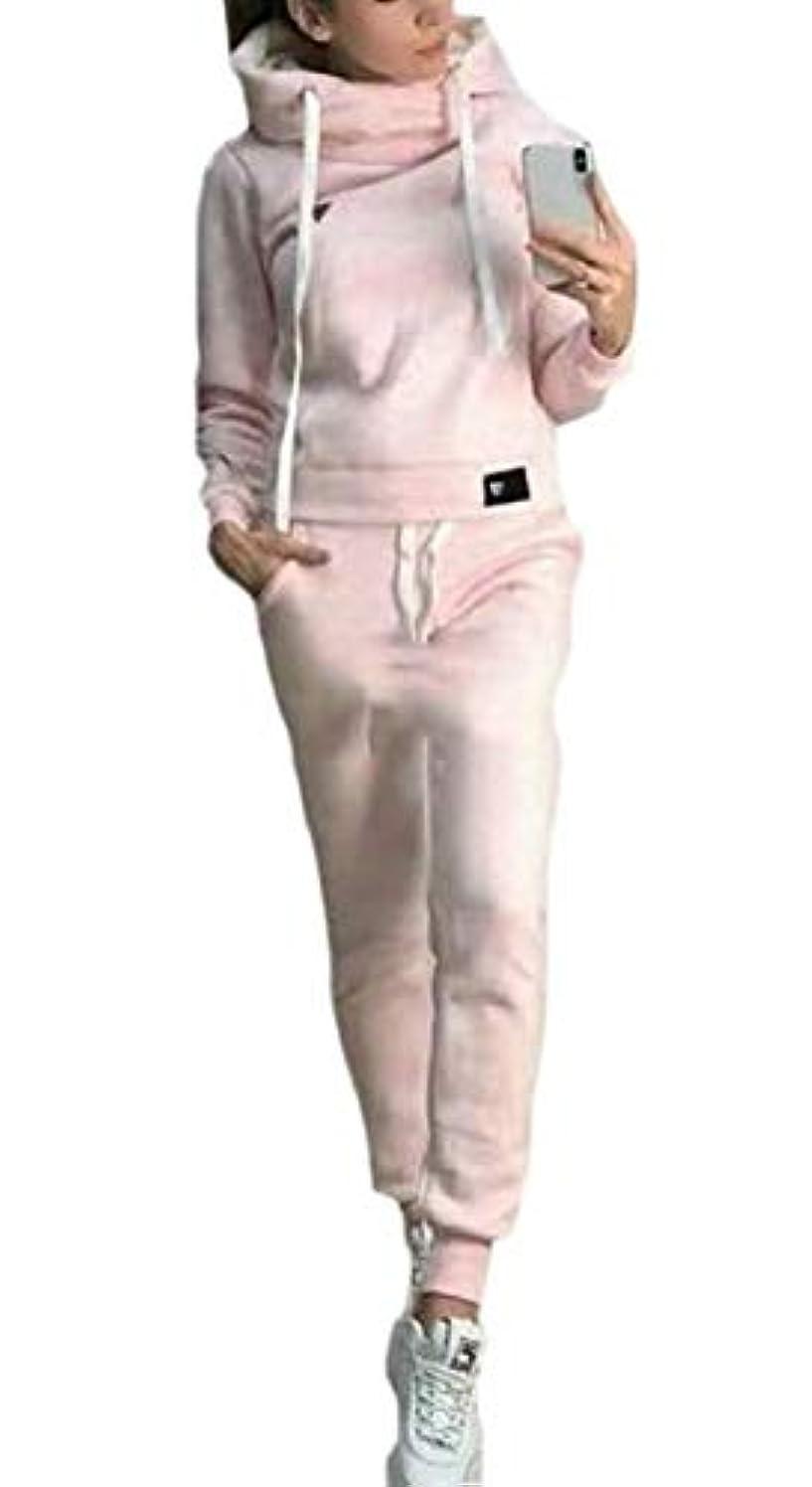 線形電圧失望させるKeaac レディース2ピース衣装スウェットシャツトップとパンツトラックスーツセットスポーツウェア Black US XXXX-Large