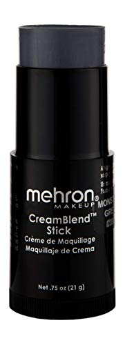 Mehron Makeup CreamBlend Stick (.75 oz) (MONSTER GREY) -