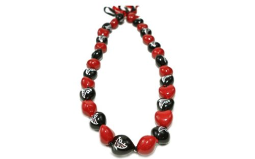 NFL Atlanta Falcons Go Nuts Kukui Nut Lei Necklace