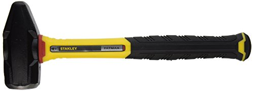 STANLEY FMHT56008 FATMAX Blacksmith Sledge Hammer, 4-Pound (Fiberglass Solid Core)