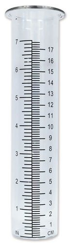 Sunset Vista 8.25 Inches x 2.25 Inches Rain Gauge Glass Tube