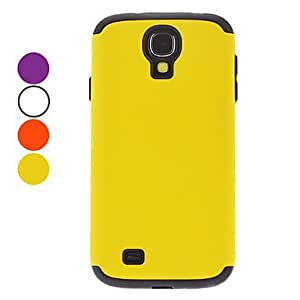 SOL ships in 48 hours Detachable Protective Hard Case for Samsung Galaxy S4 I9500 (Assorted Colors) , White