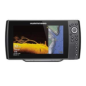 Humminbird 410880-1 Helix 10 CHIRP Mega DI Fish Finder GPS G3N with Transducer