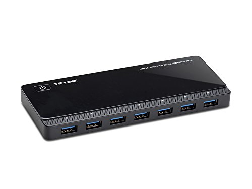 TP-LINK UH720 USB 3.0 7-Port Hub with 2 Smart Charging Ports