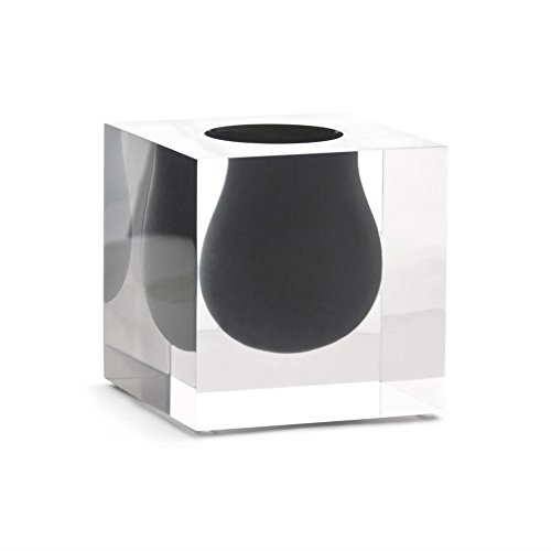 (Jonathan Adler Bel Air Mini Scoop Vase, Smoke )