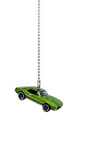 (Pontiac Firebird Diecast Ceiling Fan - Light Pull Ornament 1/64 (1967 Pontiac Firebird 400 Green) )