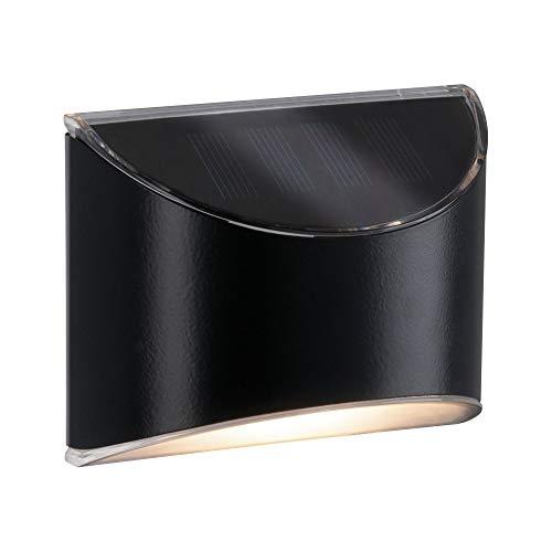Paulmann 94233 Tuinpadverlichting op zonne-energie LED buitenlamp incl 1×0,05 watt antraciet kunststof 3000 K warm wit