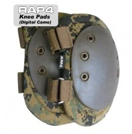 Knee Pads (Digital Camo) - paintball knee pads
