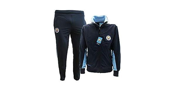 Manchester City Chándal réplica Oficial Talla 9-10 niño Mono ...