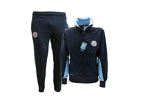 Manchester City Chándal réplica Oficial Talla 7-8 niño Mono ...