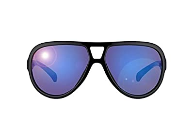 Calvin Klein Jeans - CKJ740S, Aviator, acetate, men, BLACK BLUE/GREY BLUE(001 E), 60/14/140