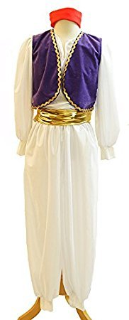 Stage-Panto-World Book Day-Aladdin-Prince NEW! ARABIAN-GENIE Child's Fancy Dress Costume - All Ages