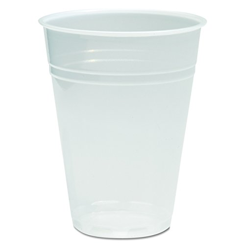 Boardwalk BWK TRANSCUP9 Translucent Plastic Cold Cup, 9 oz. (Pack of 2500)