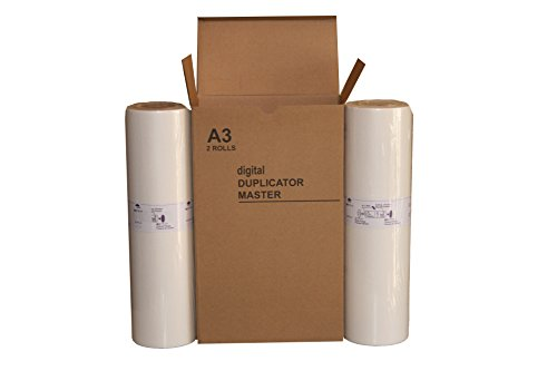 2 Wholesale Widgets S-2659 A3 Masters, Compatible with Riso 78W for use in Risograph GR3770 Duplicators RISS2659C