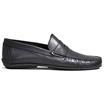 Chic Shoes Black Loafers & Moccasian For Men