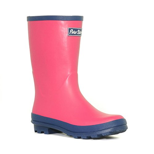 Peter Storm Damen Trim Wellies Short, Rosa, 38