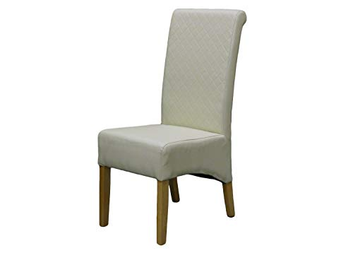 LYQZ Back to Restaurant Chair Rolling High Back Oak Legs (Color : A)
