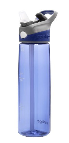 Contigo AUTOSPOUT Straw Addison Water Bottle, 24oz, Cobalt ...