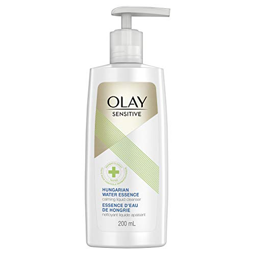 Olay Facial Hungarian Sensitive Cleanser for Sensitive Skin, with Water Essence, 6.7 Fl Oz