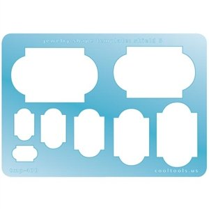 Cool Tools - Jewelry Shape Template - Shield 5