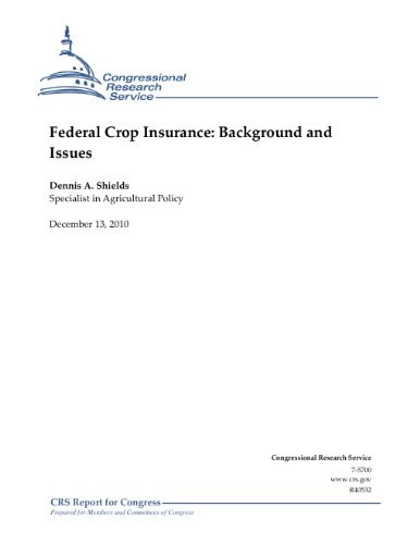 Federal Crop Insurance: Background and Issues