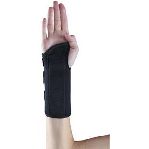 Memory Foam Wrist Splint Size: X-Small Left