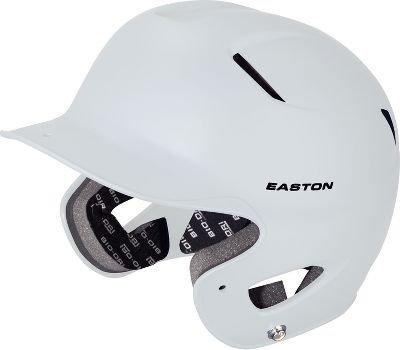 Easton Natural Grip Senior Batting Helmet, White