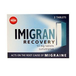 Imigran Recovery Acts On The Root Cause of MIGRAINE 2 - 50mg Tablets