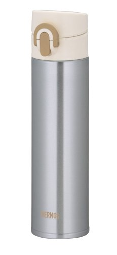 THERMOS MOTION JNI-400-SL Silver | Thermal Stainless Mug 0.4 liter ( 13.5 oz.) (Japanese Import) by Thermos