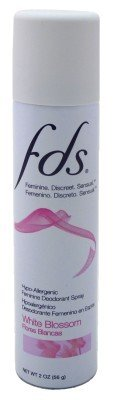 Fds Feminine Spray White Blossom 2oz (3 Pack)