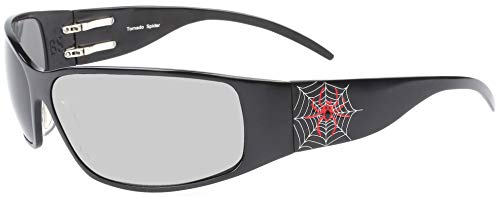 Tornado Spider Military Combat Aluminum X-Large Sunglass with Transition Day/Night lenses ()
