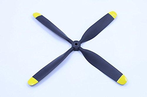海外最新 FMS RC Aeroplane RC Part - Propeller 10.5x8 (4 - blade) blade) for 980mm P39 Yellow B01G0L2ZJ6, カーパーツ アクセス:c04e6763 --- diceanalytics.pk