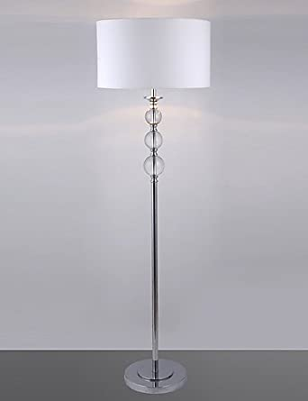 SSBY Modern Floor Lamp With Glass Balls Decoration, 110-120v ...