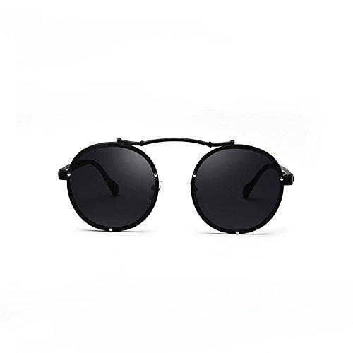 Negro de retro UV400 playa ligero YXX Color sol Negro Selfie Gafas polarizadas de mujer moda hombres arena twZUAqxd