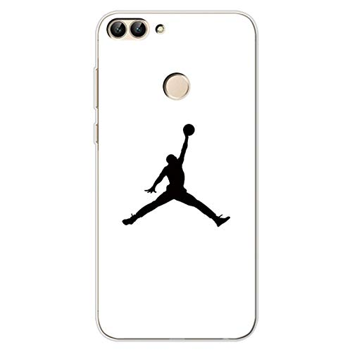 1 piece Jordan TPU 5.65 Cases for Huawei P smart Case Silicone Cover Coque for Huawei Psmart Protector for Huawei Enjoy 7S Phone Case (Best Prepaid Cell Phone Plans Comparison)