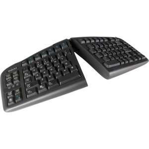 Goldtouch USB V2 Keyboard Black For PC and Mac By (Goldtouch Black Keyboard)