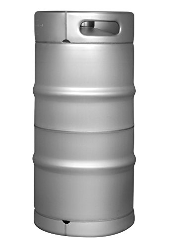 Kegco 7.75 Gallon Quarter Slim Commercial Keg - Drop-In D System Sankey Valve