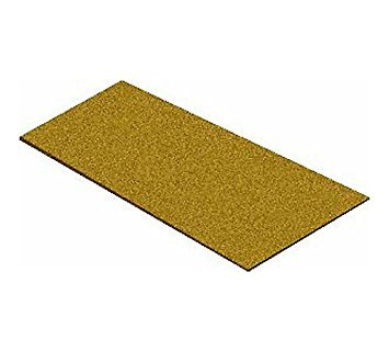 Midwest Products 3030 5mm Railroad Cork HO and O Wide Sheets, 11.75 by -