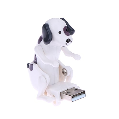 TTnight Funny Cute USB Humping Spot Dog Christmas Toy Gift - Usb Dog