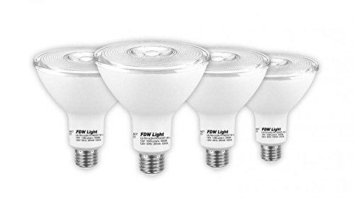 PAR38 LED Bulb Dimmable, 14W (90W Equivalent), 3000K (Soft White), 1000 lumens, CRI 90+, Flood Light BulMedium Base (E26), Energy Star - Great for Kitchen, Bedroom, Patio (4 Pack)