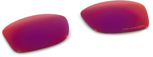 Oakley Mens Jupiter Squared Replacement Lens, OO Red Iridium Polarized, One Size by Oakley