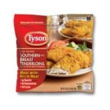 Tyson Southern Style Chicken Breast Tenderloin, 25 Ounce -- 8 per case.