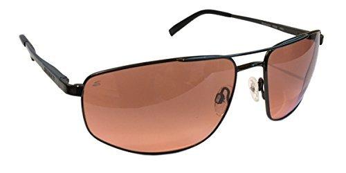 Serengeti Modugno 8408 Aviator Sunglasses, Non Polarized Drivers Grad - Medium Aviator Sunglasses Serengeti