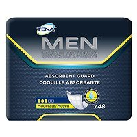 Serenity Male Guards - Tena Serenity Men's Absorbent Guard Level 2, Moderate, 48 ea - 2pc by Tena Slip