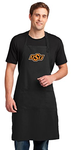 Oklahoma State Apron - Broad Bay Oklahoma State Apron Large OSU Cowboys Aprons for Men or Women