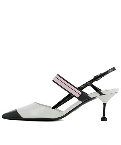latest cheap price Prada Women's 1I296IAZ3F0N13 White Leather Sandals shop for clearance find great 796SR