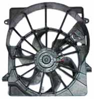 TYC 621940 Jeep Liberty Replacement Radiator/Condenser Cooling Fan (Jeep Liberty Fan)