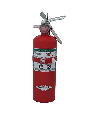 Amerex B355T, 5lb Halon 1211 Class B C Fire Extinguisher