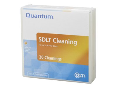 QUANTUM CLEANING CARTRIDGE, SDLT/DLT-S4 CLEANINGTAPE. - Sold as 2 Packs