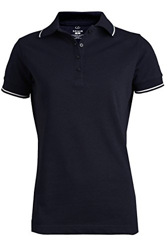 Tipped Collar Wrinkle Resistant Cleaning Polo Shirt